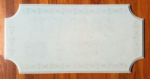 HDU sign EZboard pre cut