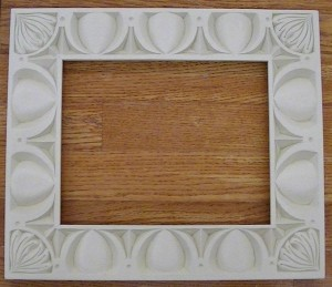 EZ frame painted