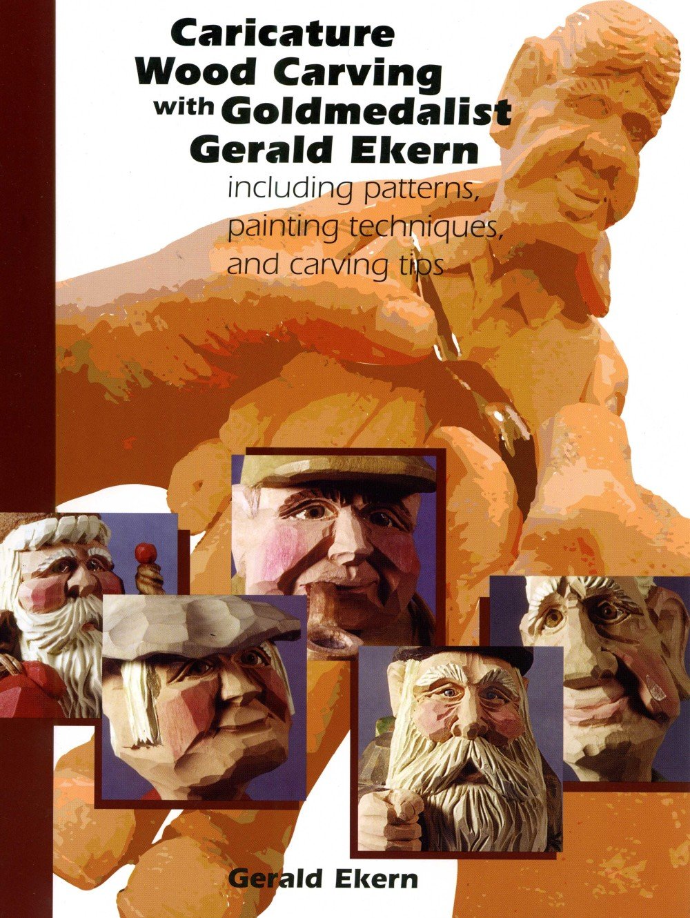 Caricature carving with gold medalist gerald ekern ezcarving
