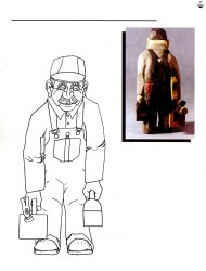 Caricature Wood Carving007