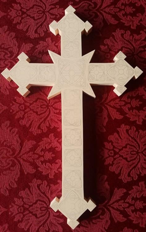 gothic cross pattern